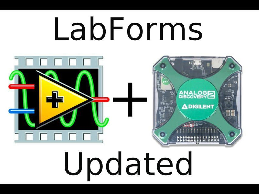 Analog Discovery 2 USB Oscilloscope + LabVIEW (2016 Update