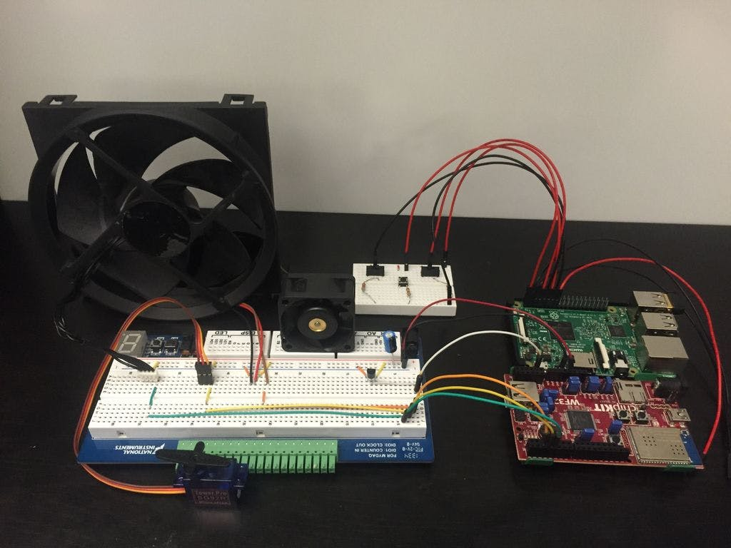 Using a Raspberry Pi to Control a WF32 with LabVIEW