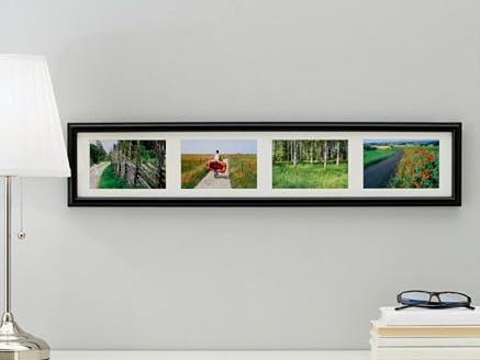 Picture of the photoframe (copied from the IKEA website)