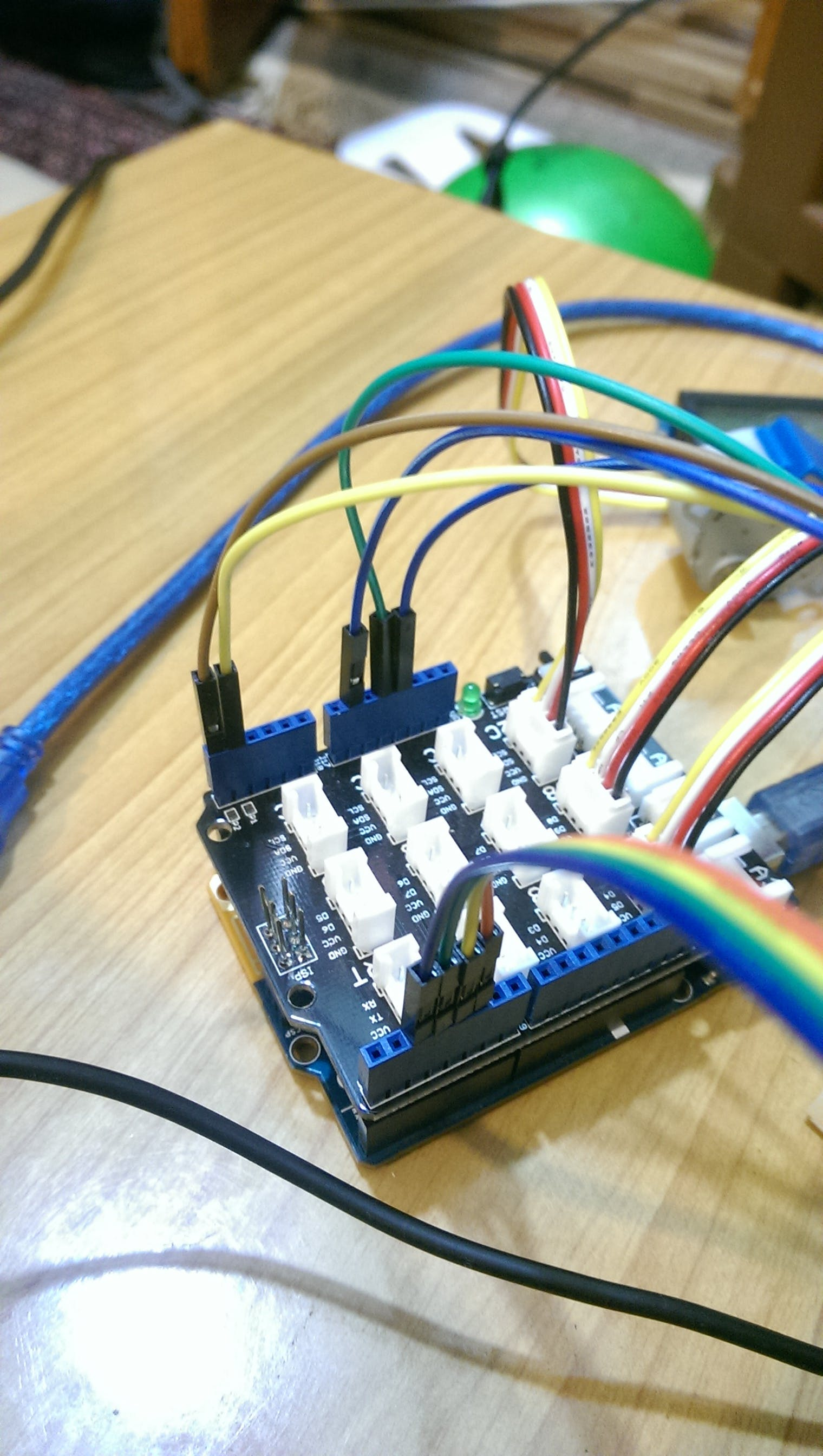 step motor driver's wires