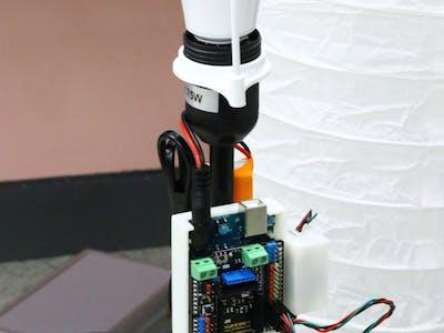 Customizing light arrangement using IoT.