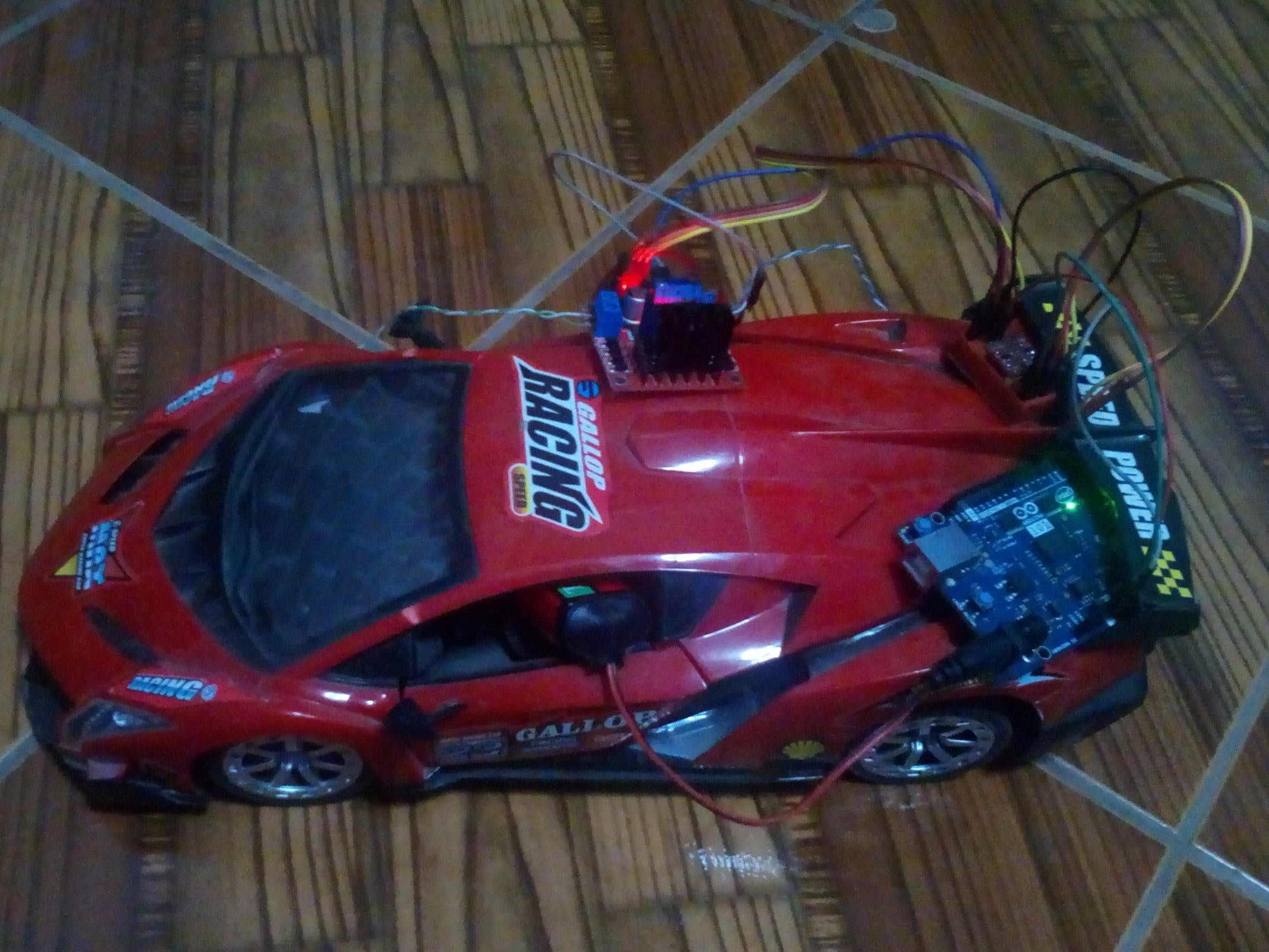 RC Car to BT Car Controlled with Blynk