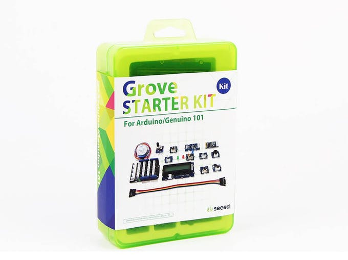 Grove Starter Kit, where I got most of the components from