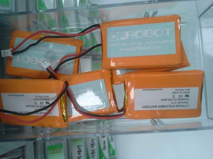 Li-ion Battery (DFRobot)