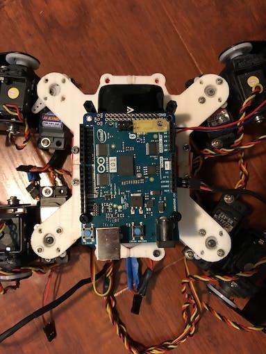 Wolf search and rescue multi terrain robot arduino