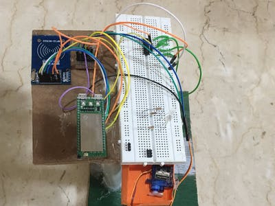Smart Furniture Using Linkit Mediatek 7688 Duo