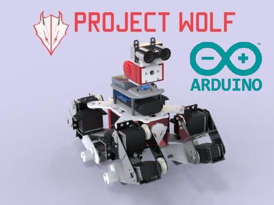 Wolf search and rescue multi terrain robot hackster