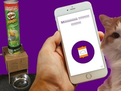 DIY Smart Automatic Pet Feeder with littleBits & IFTTT