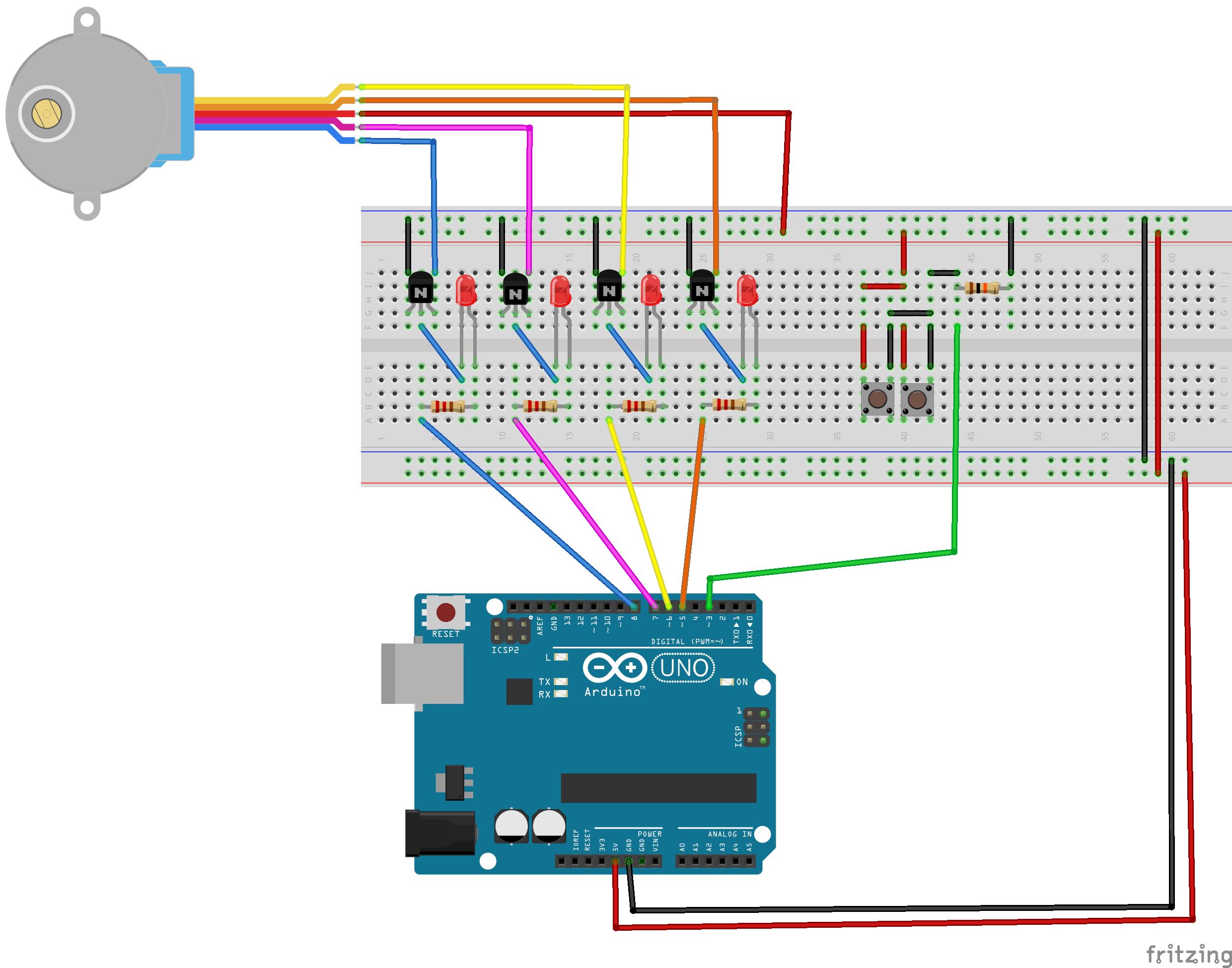 Arduino simple camera slider electronics for Stepper motor camera slider