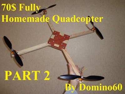 70$ Quadcopter