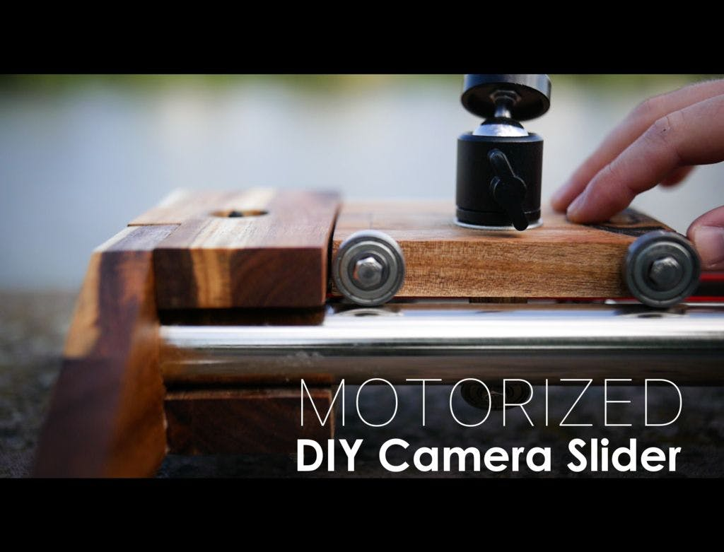 The Ultimate DIY Camera Slider