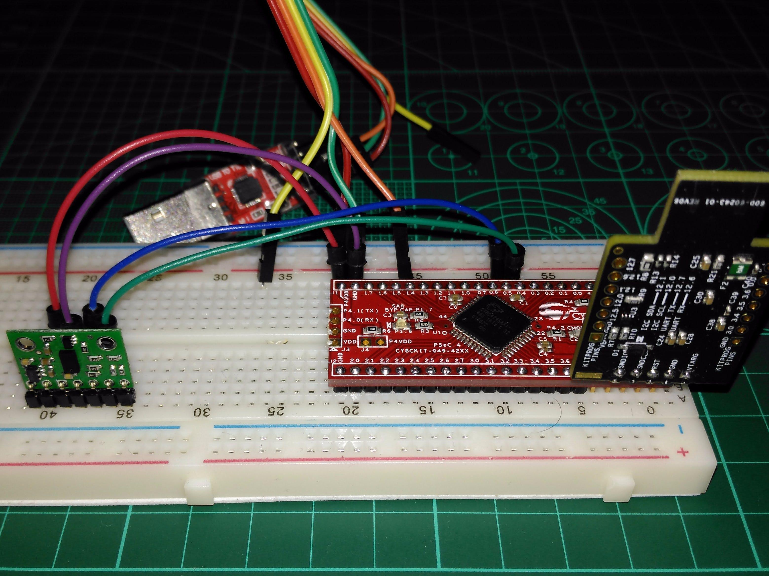 Measuring Distance With VL53L0X ToF Sensor