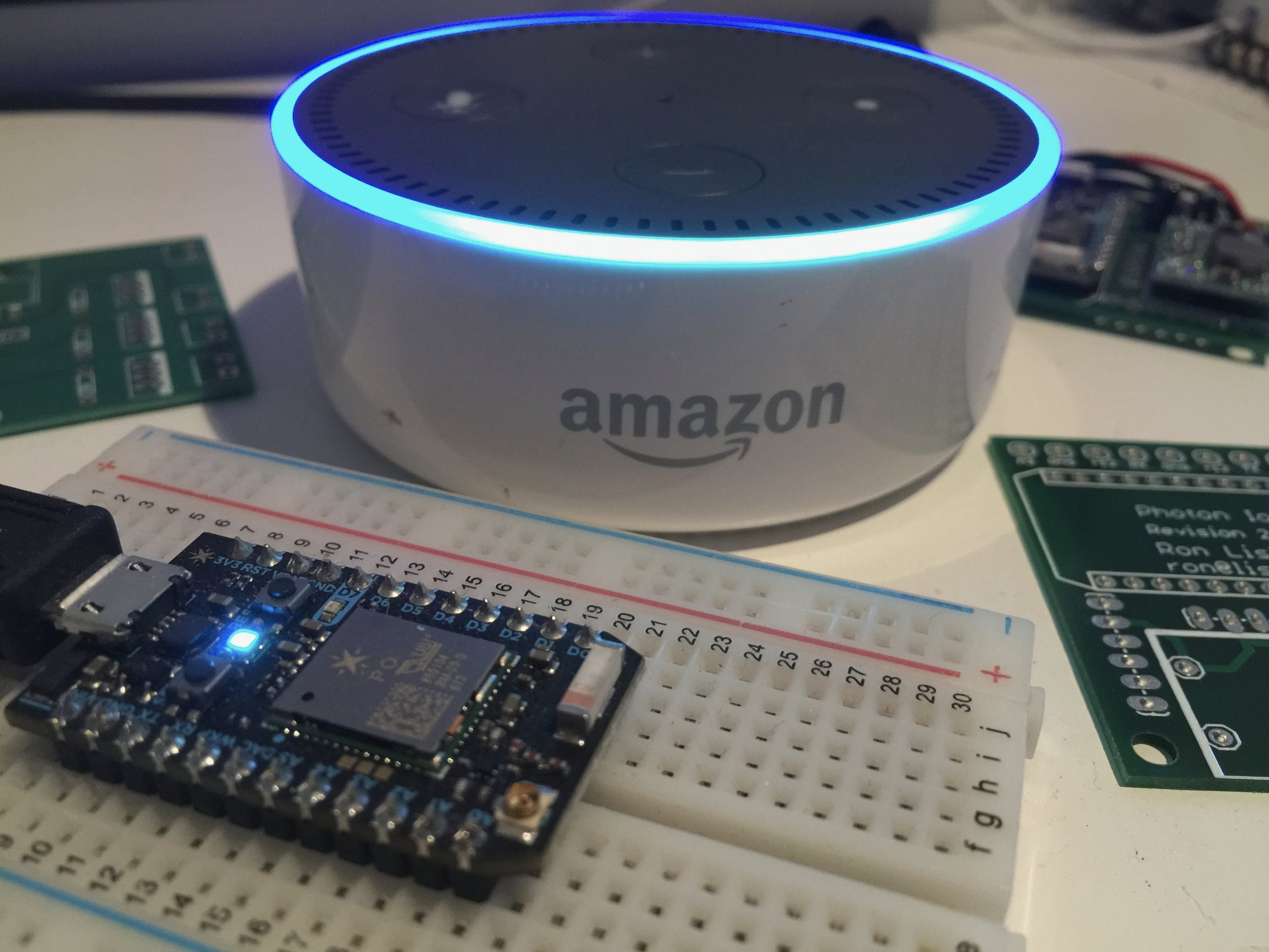 Alexa Controlled Photon Project Without Alexa Coding
