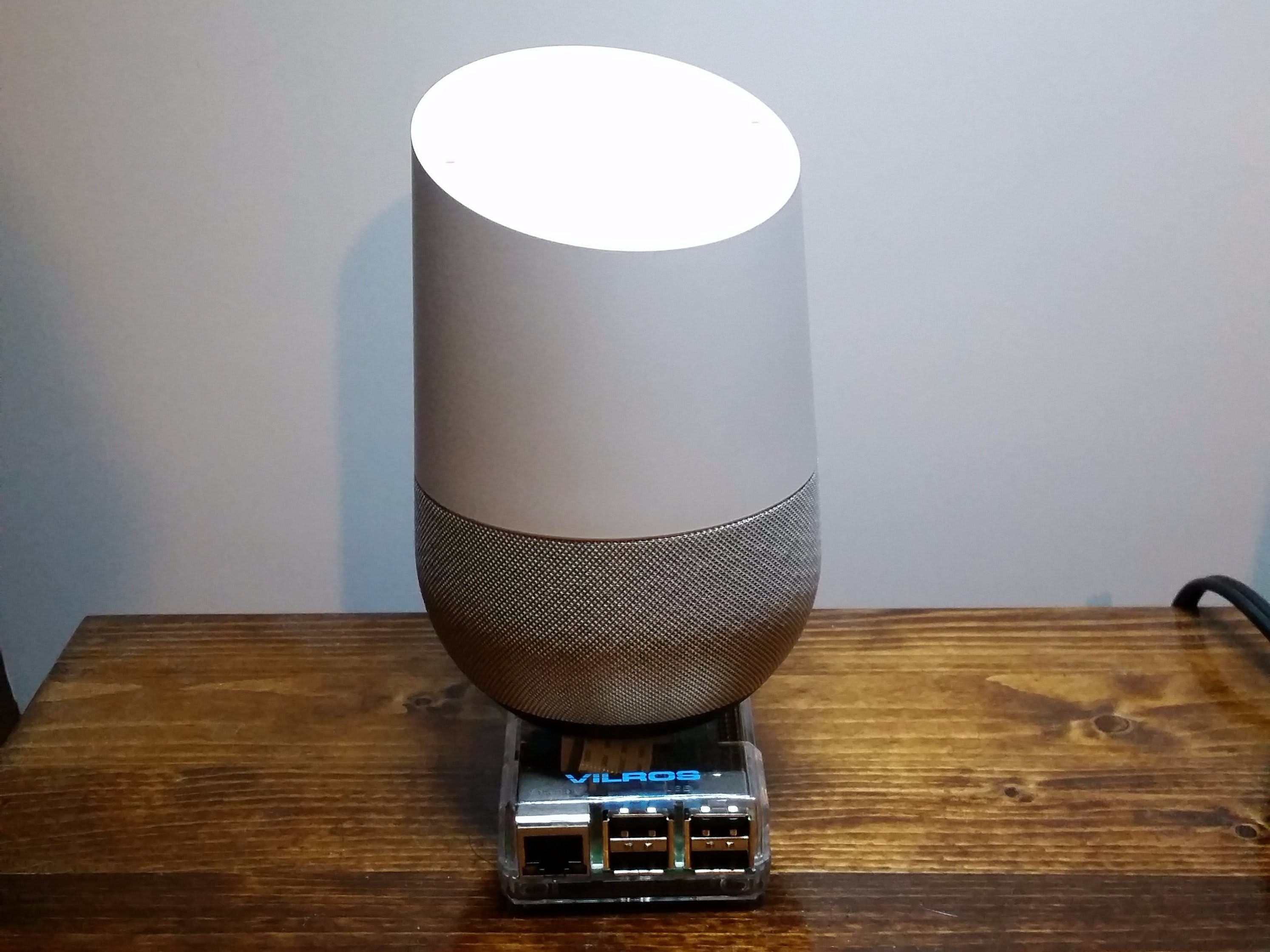 Google Assistant / Particle Wake-on-LAN
