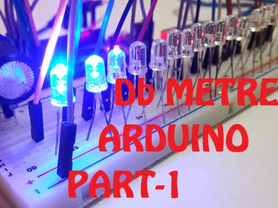UV METER (Music Visualizer) #1 With Arduino