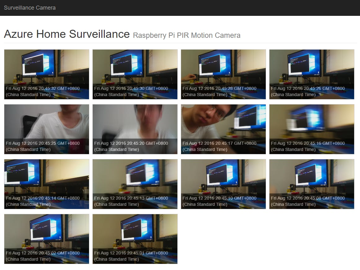 Raspberry Pi Surveillance Camera with Linux and Azure
