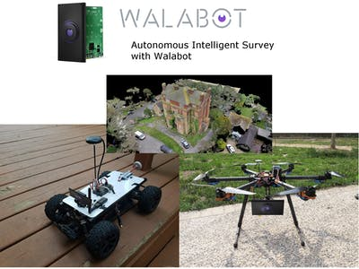 Next Gen Surveying - 3D Land and sky mapping with Walabot