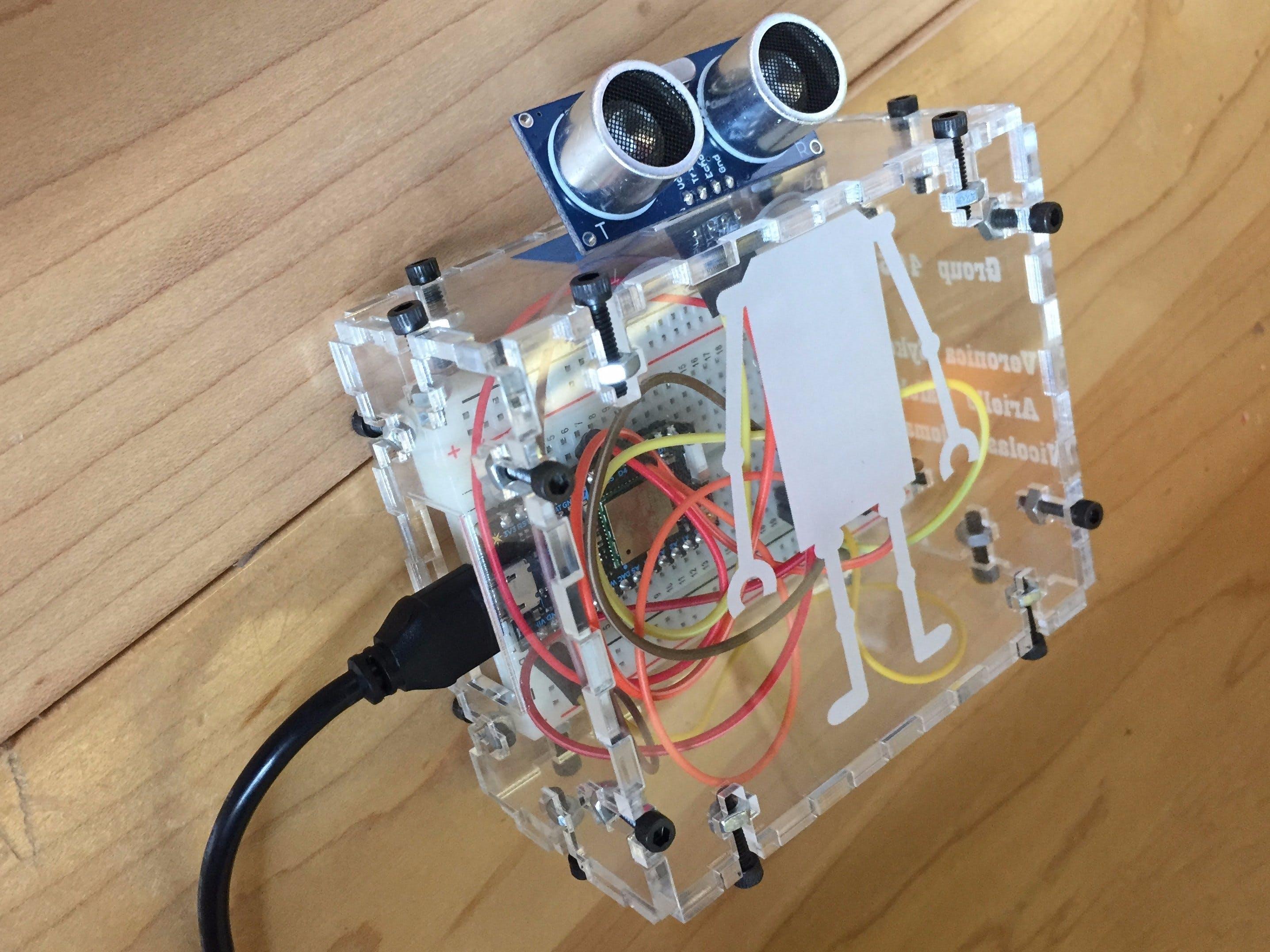 Photon Motion Sensor