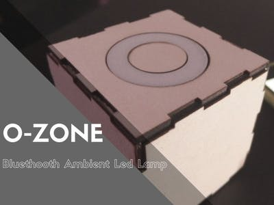 O-Zone: DIY Bluetooth Battery Lamp