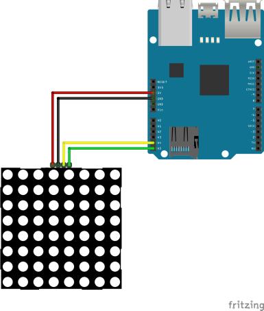 Remote-Controlled 8x8 LED Matrix - Hackster io