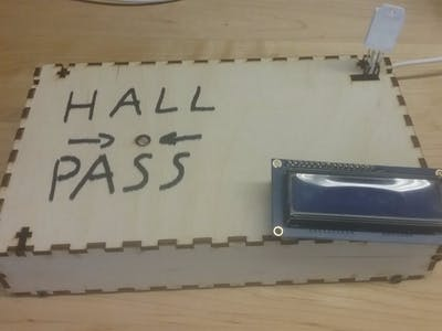 Group 516 - Project 3 (Bathroom Pass Sensor)