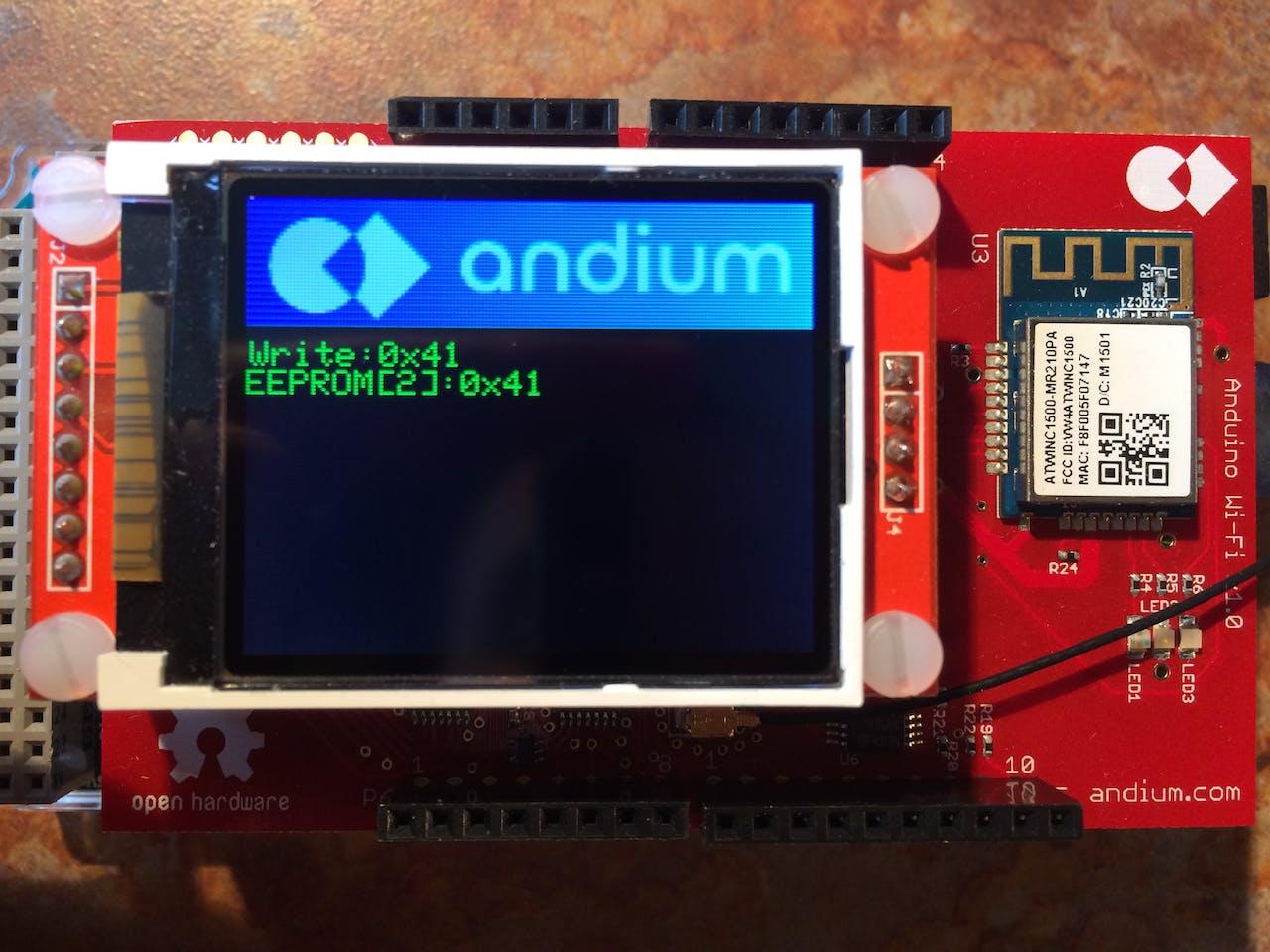 AnduinoWiFi Getting Started - Arduino Project Hub
