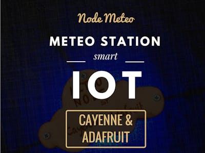 Meteo Node IoT Smart Meteo Station