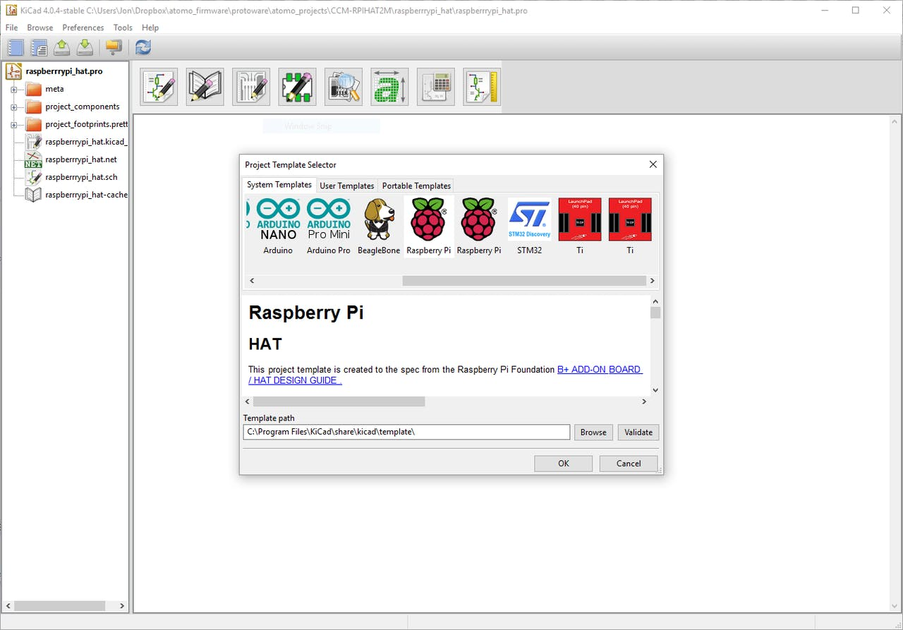 Raspberry Pi HAT KiCAD Template - Hackster io