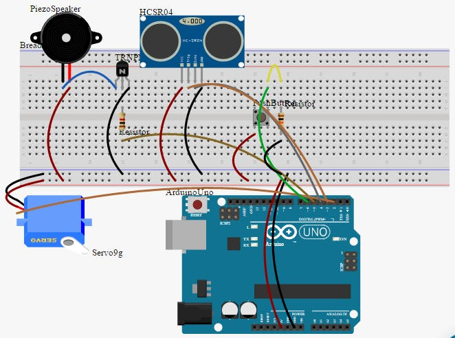 circuit.io Wiring Diagram