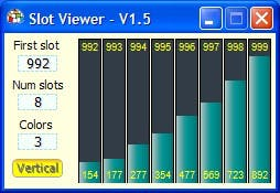 SlotViewer6lotViewer a simple and handy slot explorer and editor