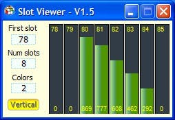 SlotViewer5lotViewer a simple and handy slot explorer and editor