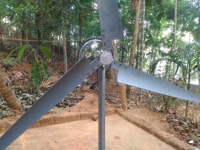 Make a Wind Turbine with Horizontal Axis DIY Tutorial