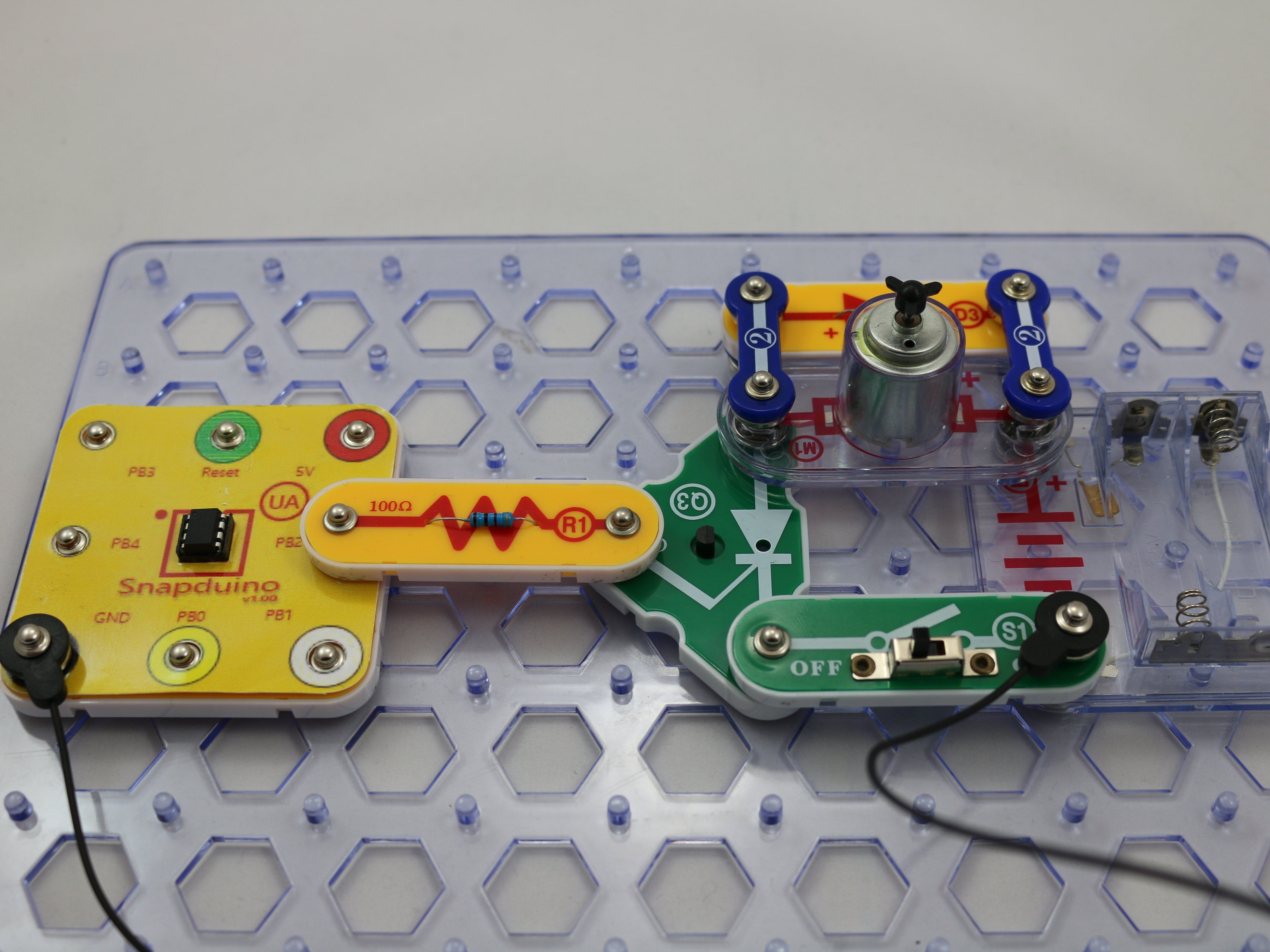 Snap Circuits® - Snapduino SCR Motor