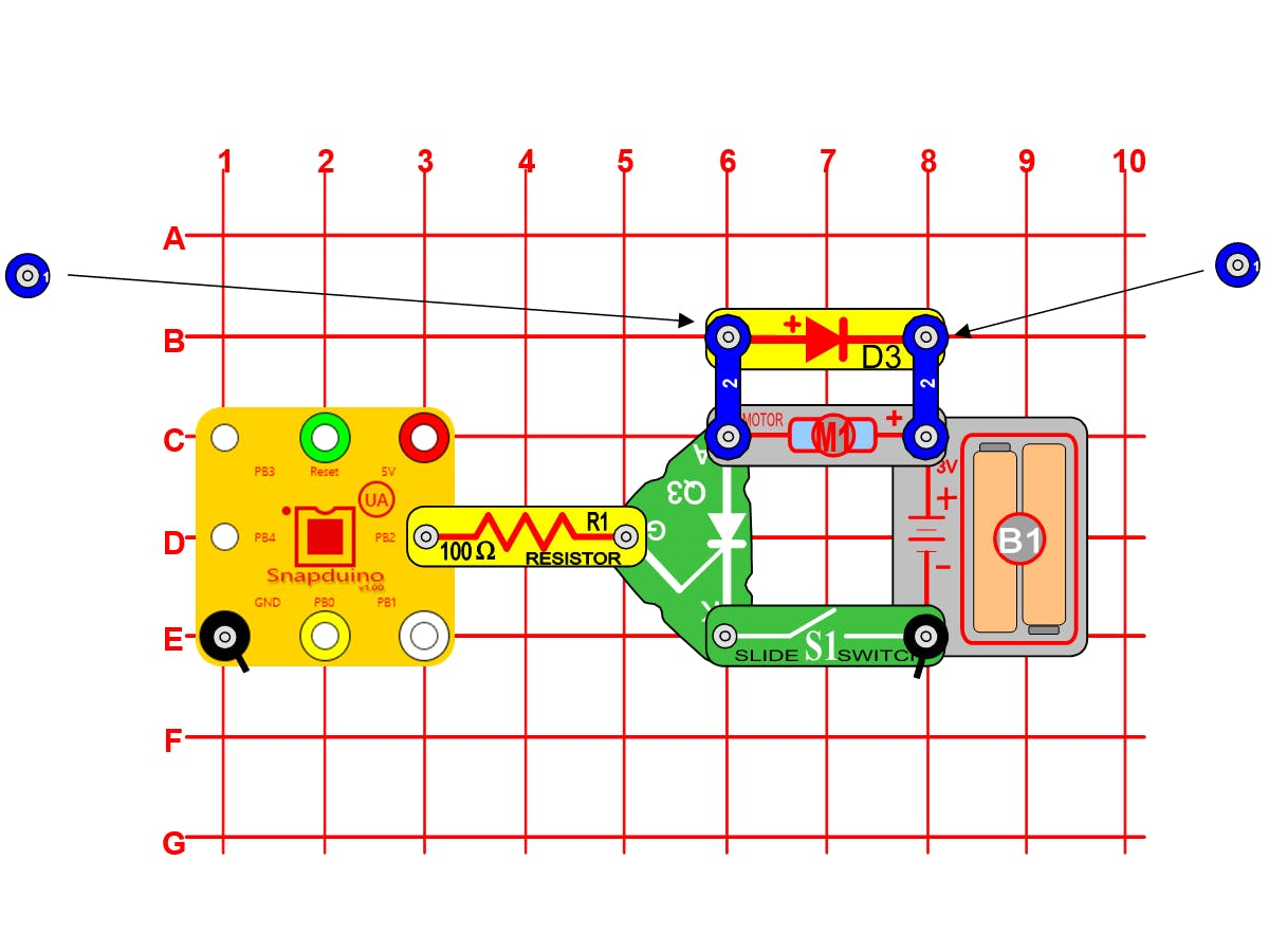 Snap Circuits Snapduino Scr Motor Another Circuit You Can Build That Includes The