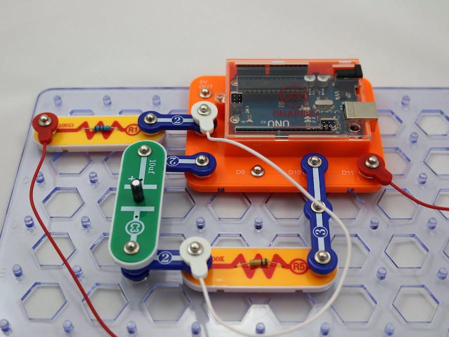 Snap Circuits® - Snapino Capacitance Meter