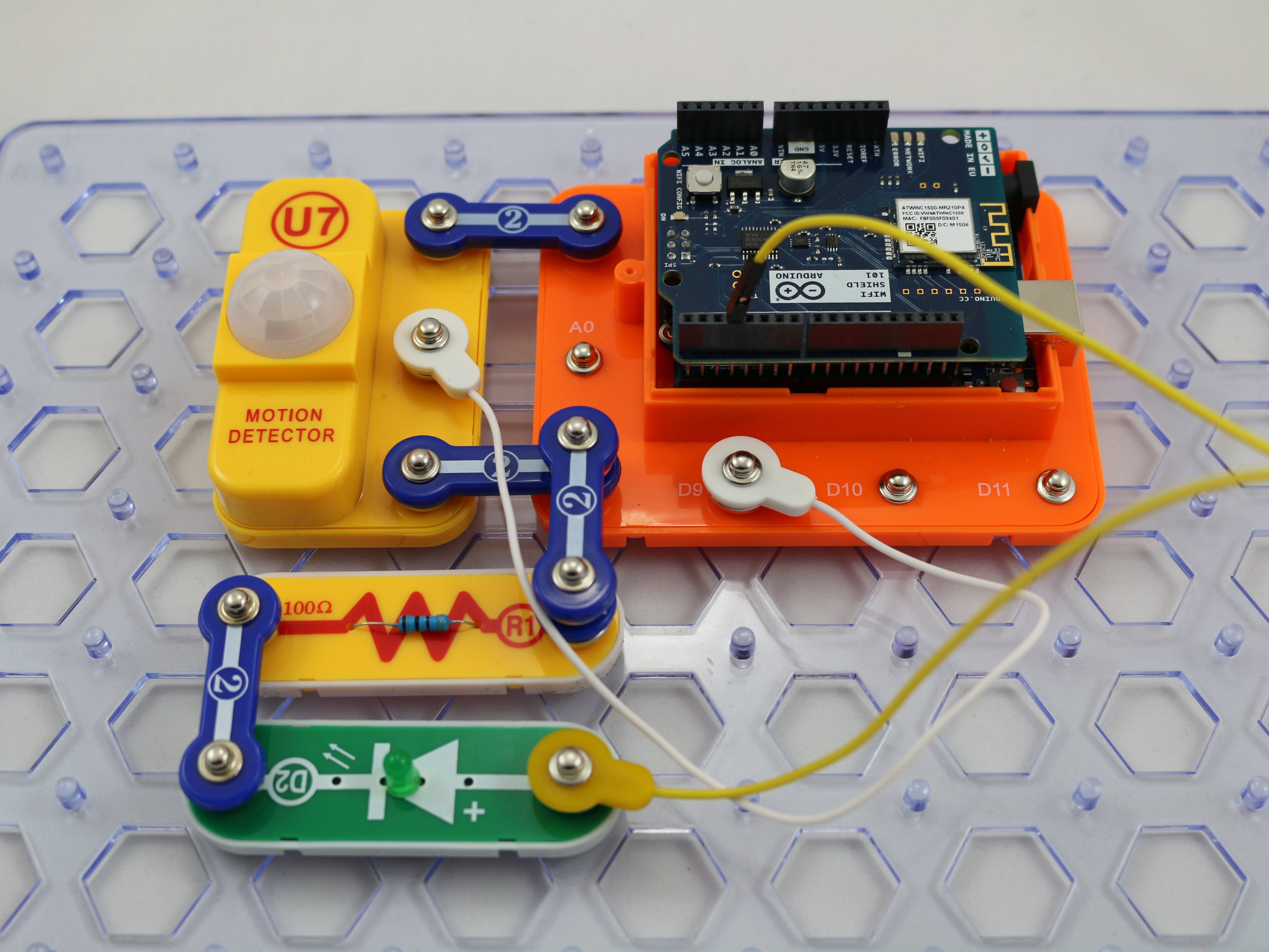 Snap Circuits Schematics Electrical Wiring Diagrams Extreme Educational 750 Exp Snapino Ifttt Arduino Project Hub Circuit Schematic Symbols