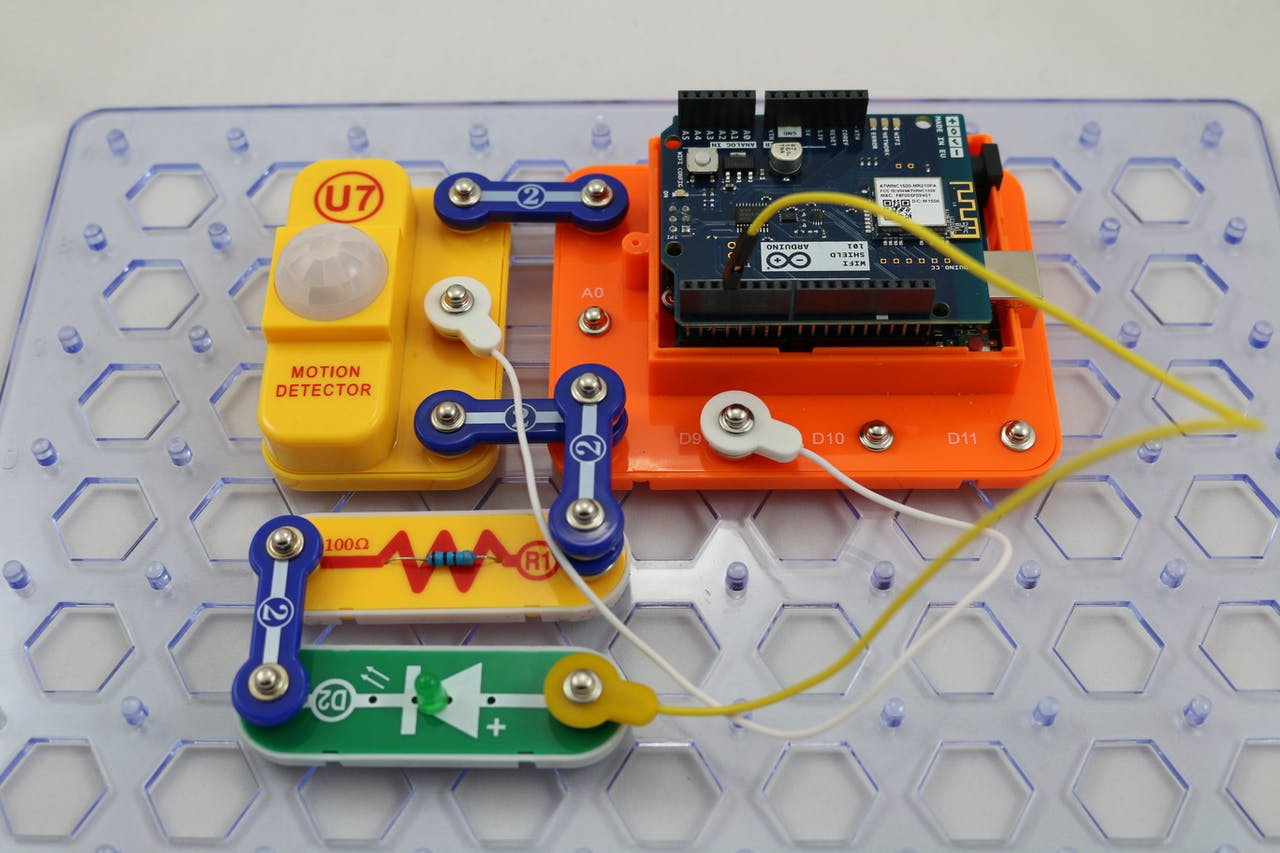 Snap Circuits Snapino Ifttt On Circuit