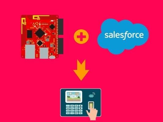 Build an employee check-in system with Tessel and Salesforce