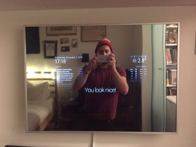Smart Mirror (with Optional Alexa)