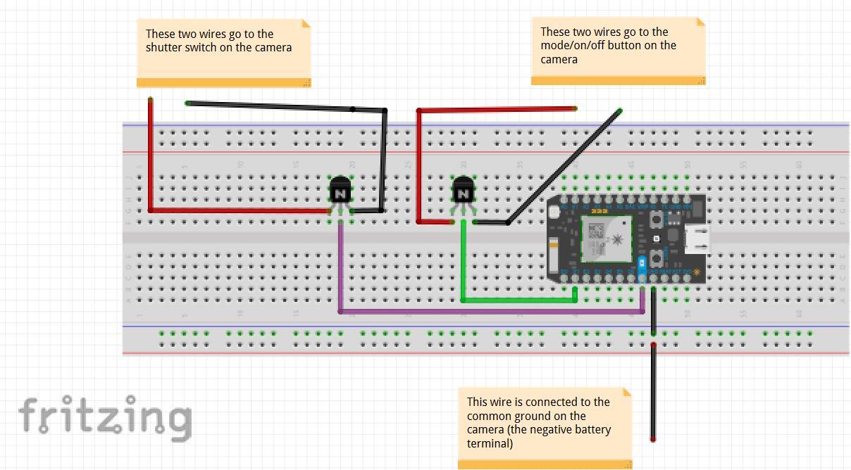 PIR Motion Sensor Camera Security System - Hackster.io