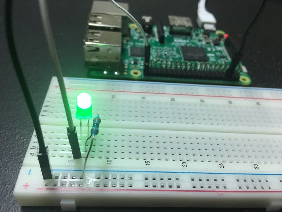 Control LED Using Raspberry Pi GPIO