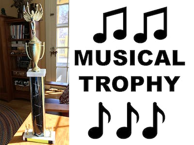 Motion-Activated Musical Trophy