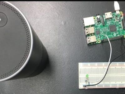 Control Raspberry Pi GPIO Using Amazon Echo (Ngrok)