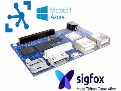 Azure IoT Hub - Set Up MQTT.fx and Sigfox Callback in DB401c