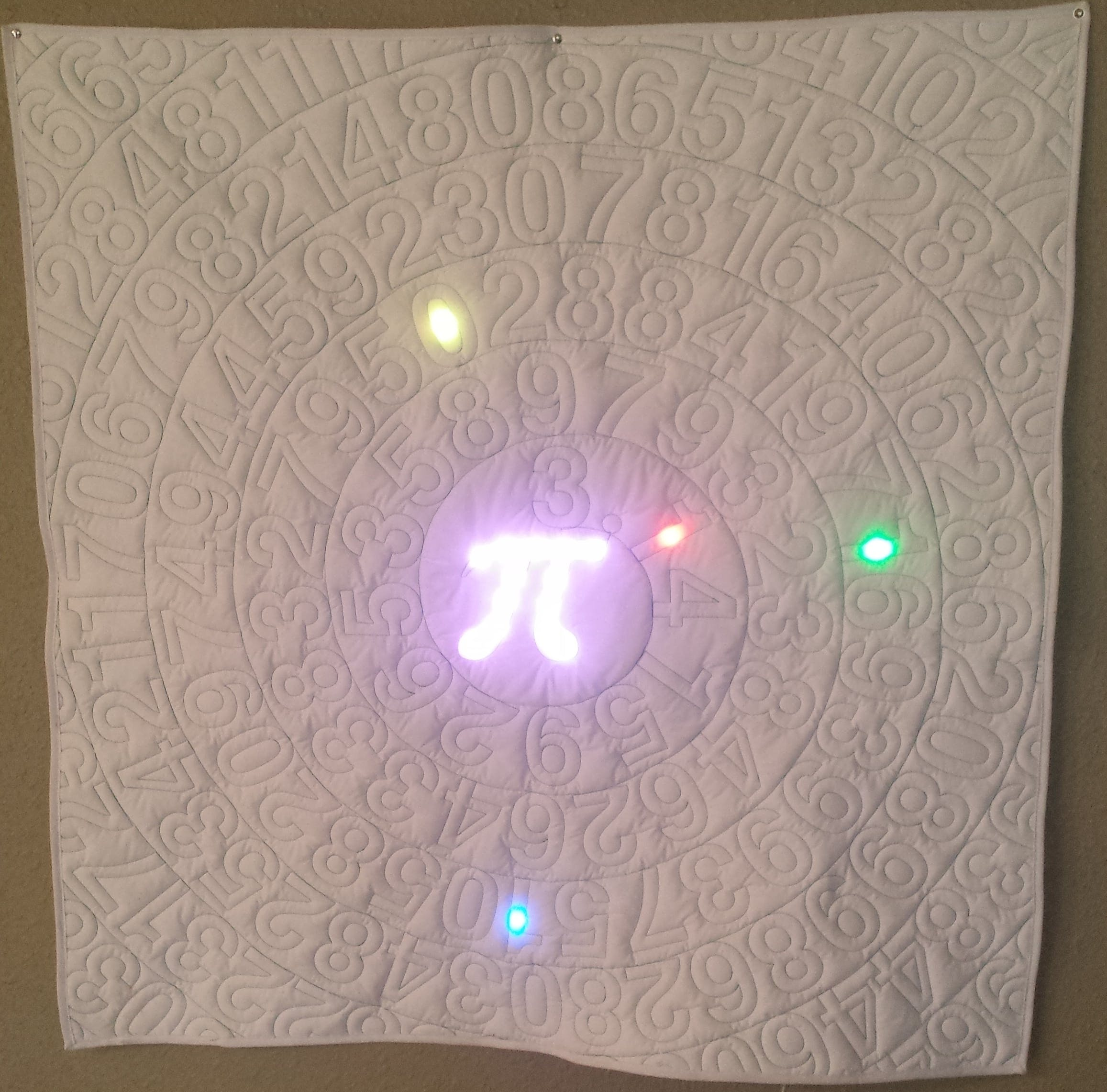 Pi Time - A Fabric Arduino Clock