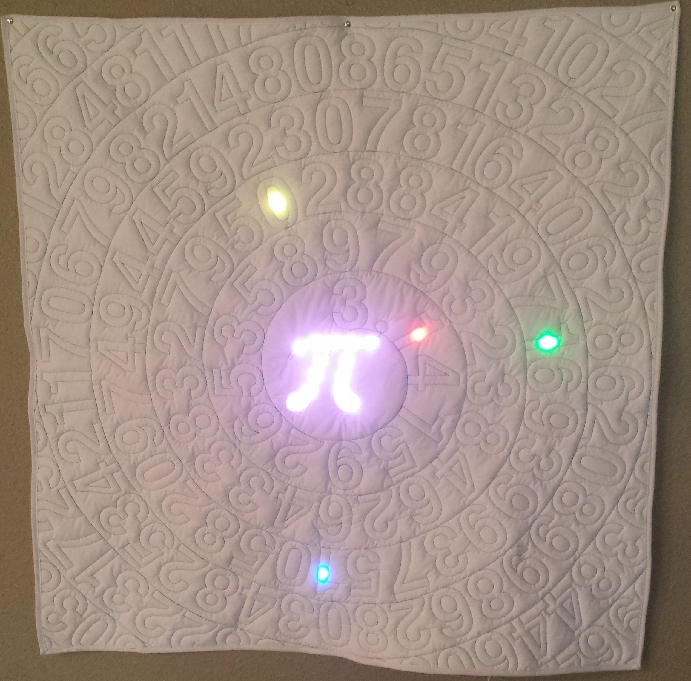 Pi Time - A Fabric Arduino Clock