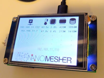 Raspberry Pi Server Farm Monitoring