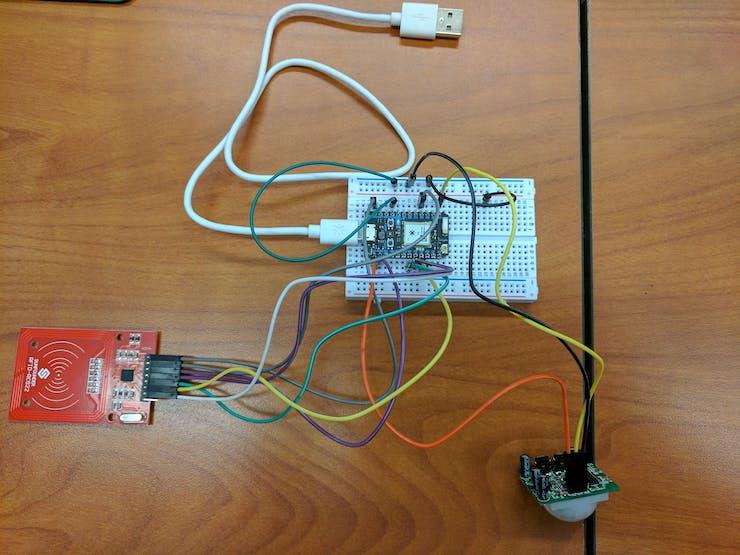 RFID Motion Sensor Circuit