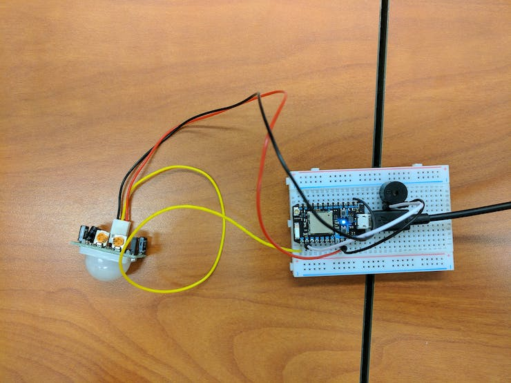 PID and Buzzer Circuit