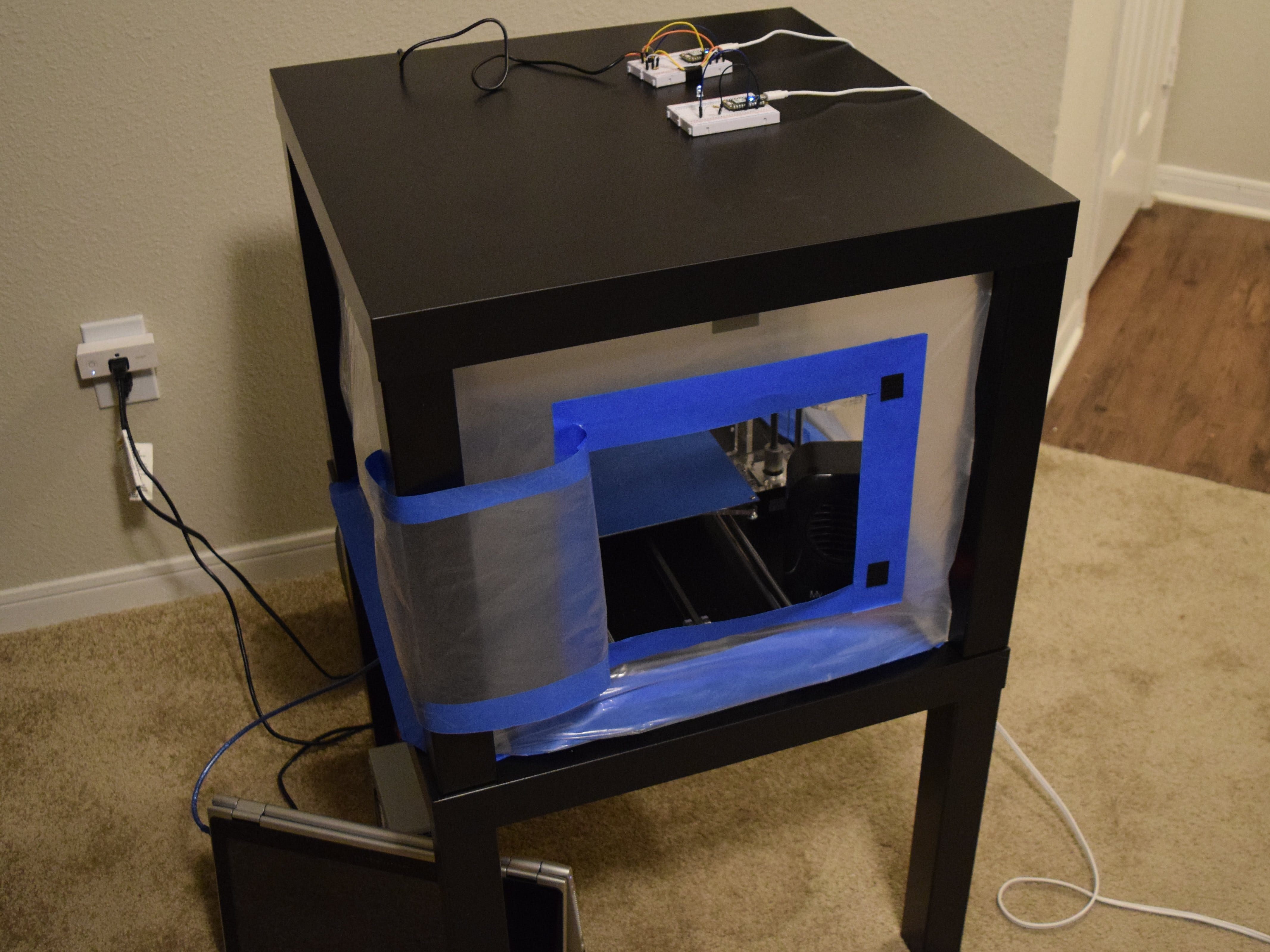 Climate Controlled 3D Printer Enclosure
